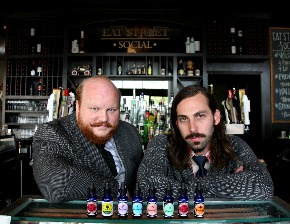 BARTENDERS & BUSINESS: Nicholas Kosevich and Ira Koplowitz